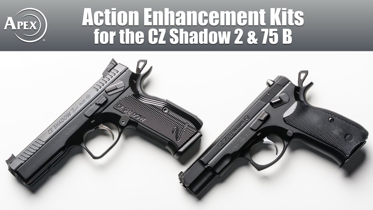 Apex's Action Enhancement Kits for the CZ Shadow 2 & CZ 75 B