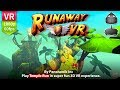 Runaway VR Play Temple Run style game in VR 3D experience with real move and jump