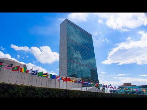 UN New York - Eradicating Human trafficking - Michel Veuthey Speech