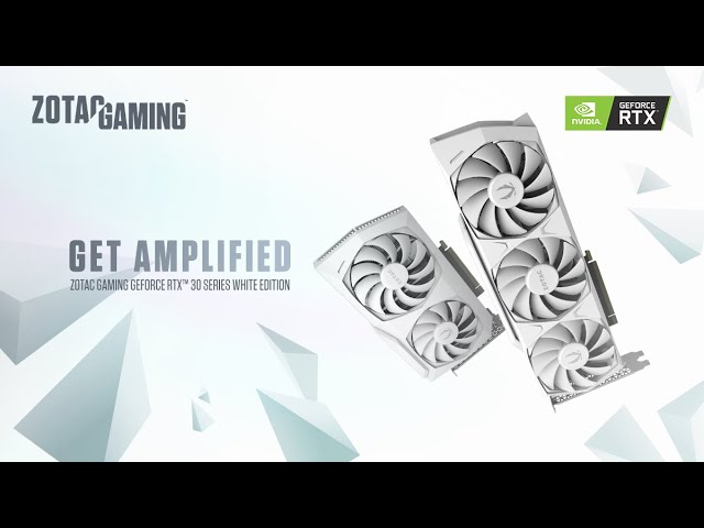 ZOTAC TV 第25回 ZOTAC GAMING GeForce RTX 3070 White Edition