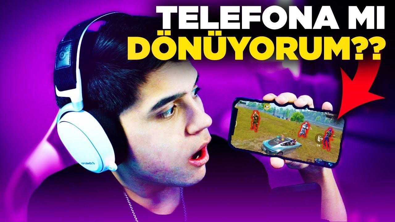 AYLAR SONRA TELEFONDAN OYNADIM!! 😮 YOKSA TELEFONA MI DÖNÜYORUM? | PUBG MOBILE