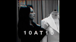 10AT10 INTERVIEW FROM THE LOCKDOWN W. TANYA DIMITROVA