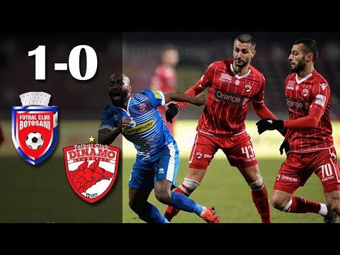 FC Botosani Dinamo Bucharest Goals And Highlights