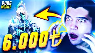 OHA!! 😮 BU SET İÇİN 6000 TL HARCADIM!! | PUBG Mobile Legendary Contract
