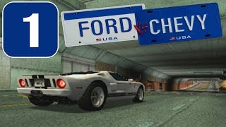 Ford vs. Chevy [HD][PS2] - Stage #1 - Modern Muscle Car Series