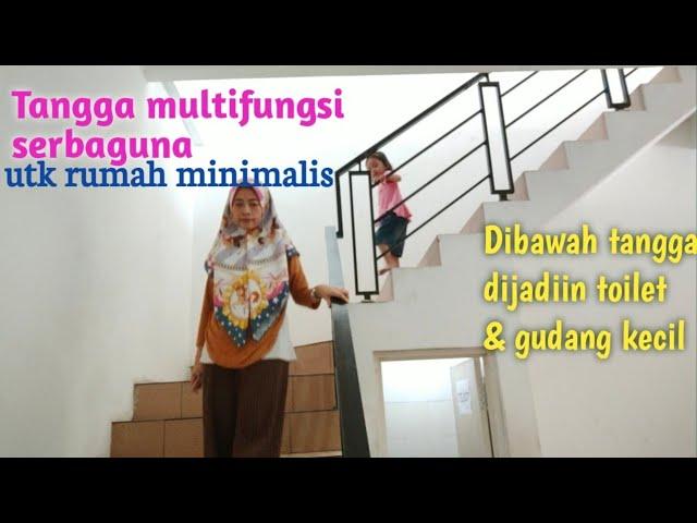Tangga Rumah Minimalis 3 Lantai Ide Kreatif Toilet Gudang Bawah Tangga Tangga Bentuk L Railing Youtube