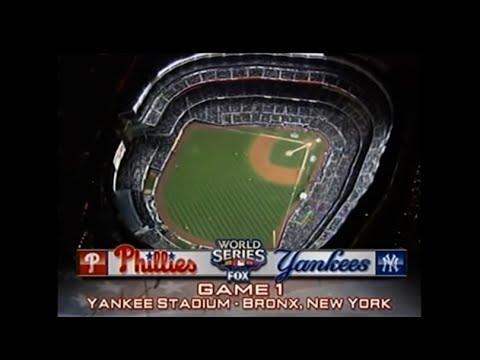 2009 World Series Game 1 - Phillies vs Yankees  @mrodsports