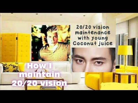 Cleaning eyes 20/20 Vision how I maintain