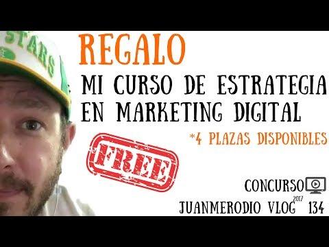REGALO a 4 PERSONAS mi CURSO DE ESTRATEGIA EN MARKETING DIGITAL (concurso)