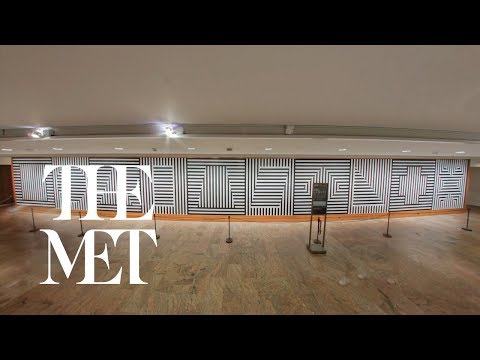 """Sol LeWitt at the Met—""""Wall Drawing #370"""" Installation: Days 15-17"""