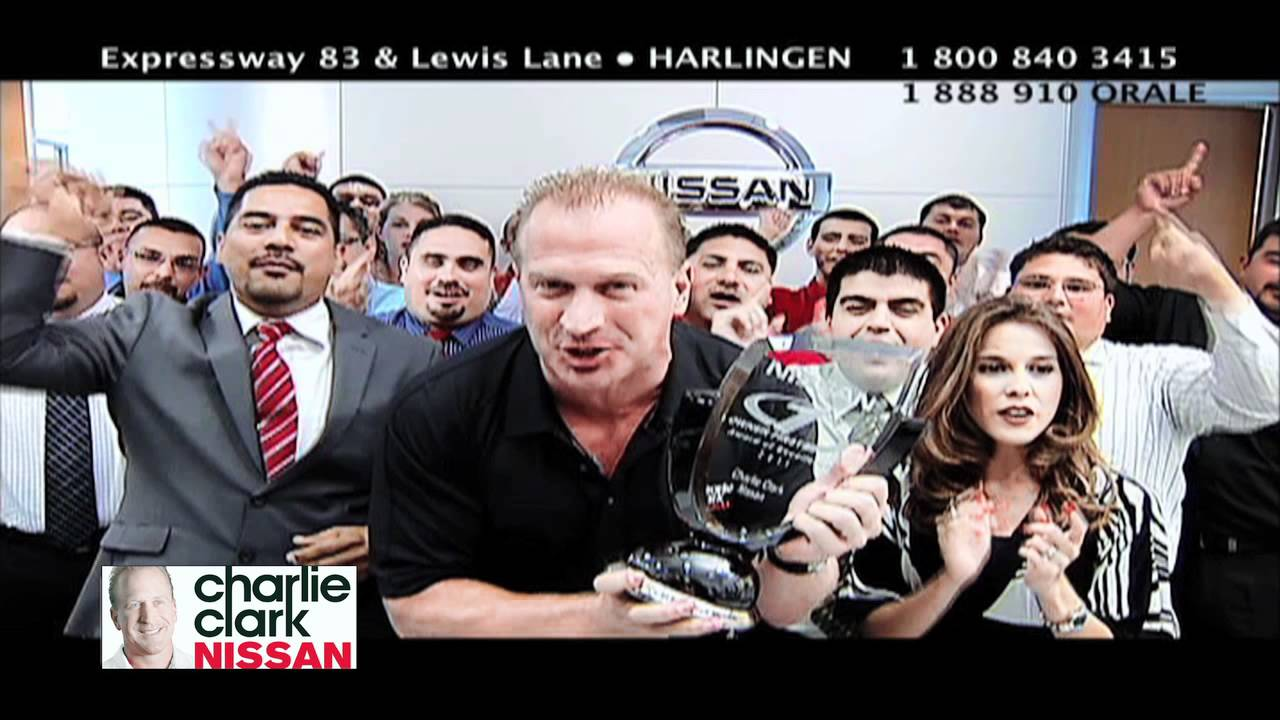CHARLIE CLARK NISSAN NUMBER 1 IN THE NATION ENGLISH COMMERCIAL