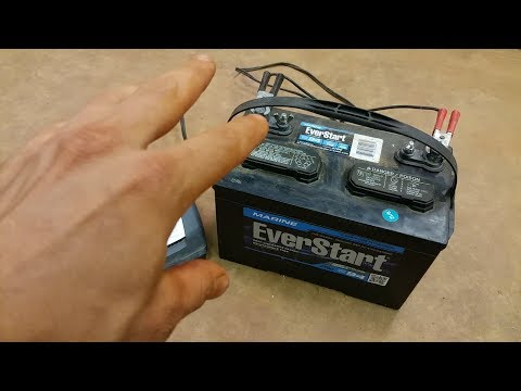NEVER have a DEAD boat battery again! WATCH THIS!