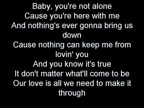 Not Alone by Darren Criss lyrics