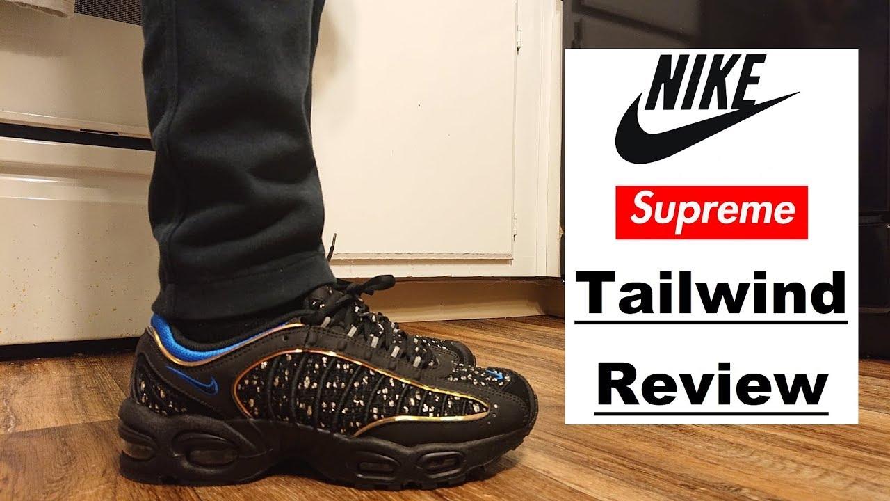 supreme tailwind on feet