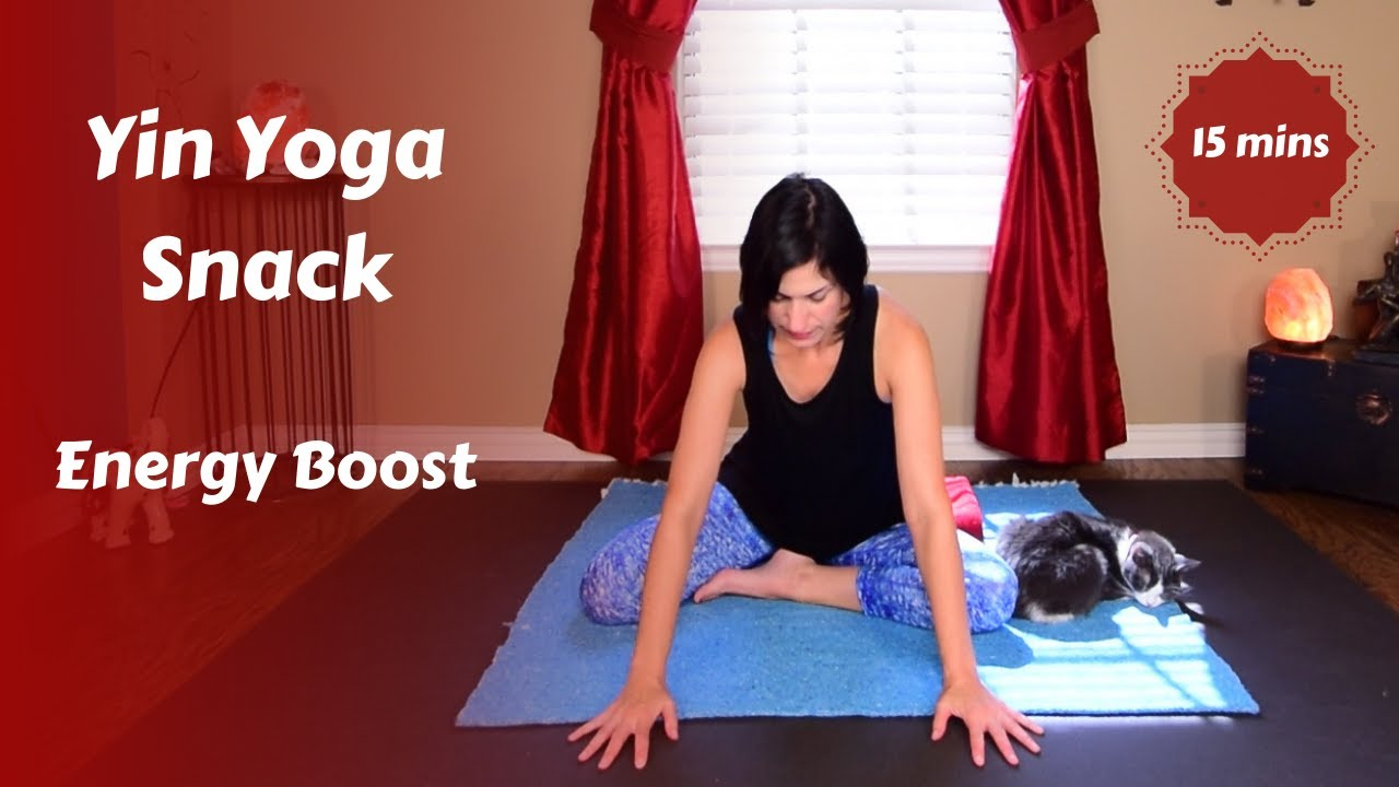 Yin Yoga Snack for Coffee Break Energy Boost {13 mins}