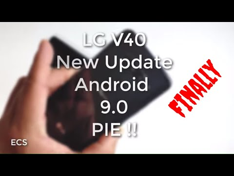 LG V40 Update 9.0 Pie FINALLY !! | T-Mobile Version Is Here | Download It NOW !!