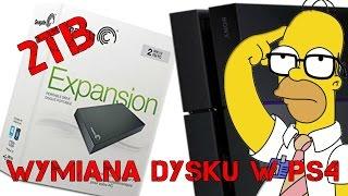 Wymiana dysku w PlayStation 4 - PORADNIK. Powiększamy dysk do 2TB!