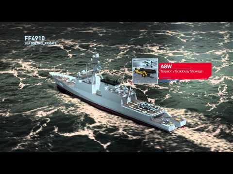 Ingalls Shipbuilding Sea Control Frigate