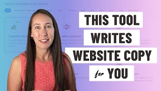 This Tool Writes Site Copy for You (Blog Posts, Client Content, Site Copy  \u0026 More)