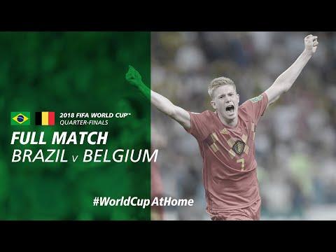 #WorldCupAtHome | Brazil V Belgium (Russia 2018)