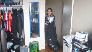 Me & The Giant Plastic Garbage Bag