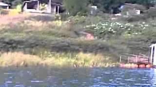 pescarias tablado flutuante em santa juliana