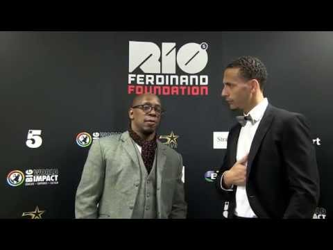 Interview with Ian Wright and Rio Ferdinand