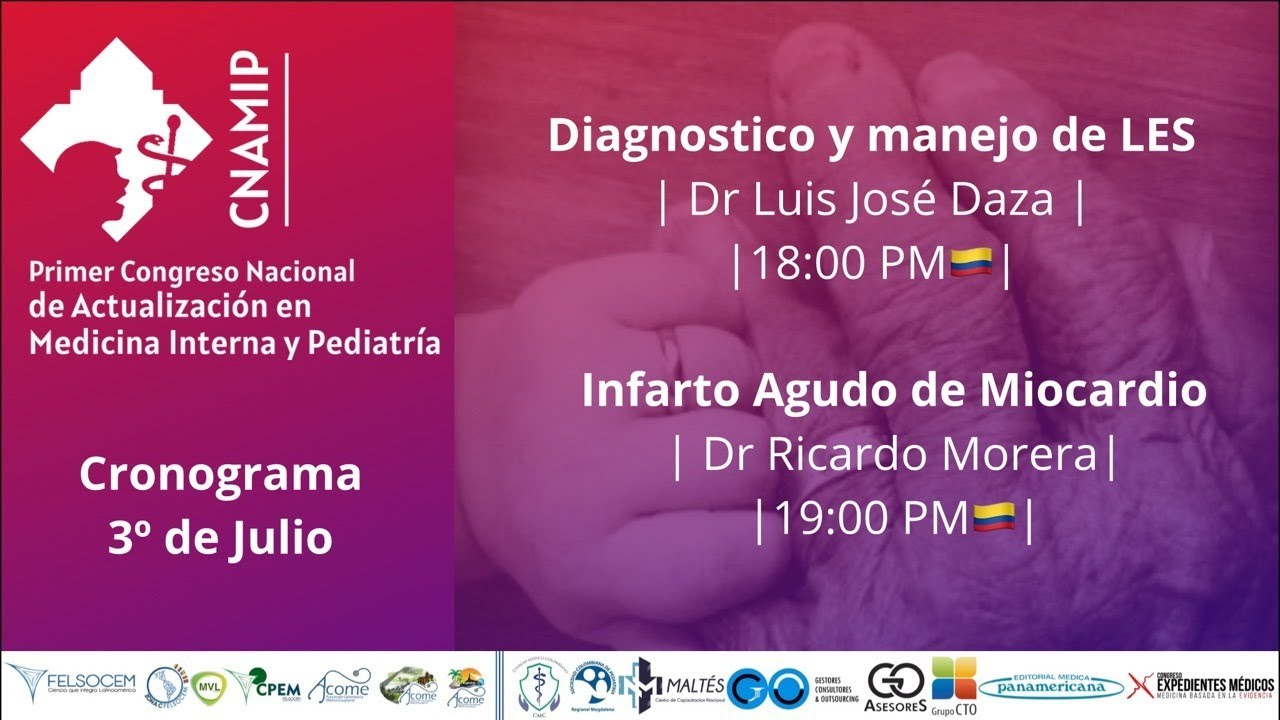 📚 Día 3: Primer congreso nacional de actualización en Medicina interna y Pediatría.