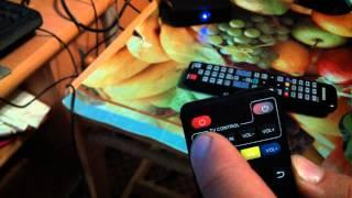 Обучение пульта ДУ от медиаплеера Amlogig MXQ S805 для управления ТВ. Один ДУ на 2 устройства.(, 2015-09-03T22:47:03.000Z)