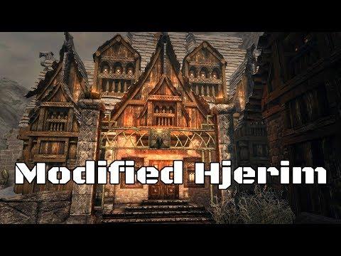 SKYRIM MODS: Modified Hjerim