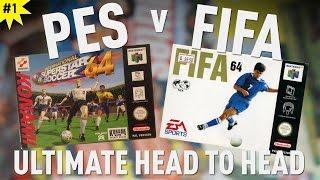 ISS64 v FIFA64 | PES v FIFA Head to Head | Ep1