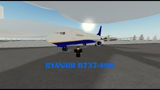 FLYING WITH RYANAIR B737 / Roblox /Pilot training flight simulator