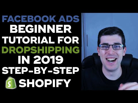 STEP-BY-STEP Facebook Ads in 2019 for Dropshipping | EASILY MASTER Facebook Ads in 30 Minutes thumbnail