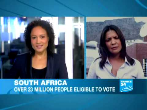South Africa: over 23 million people eligible to vote