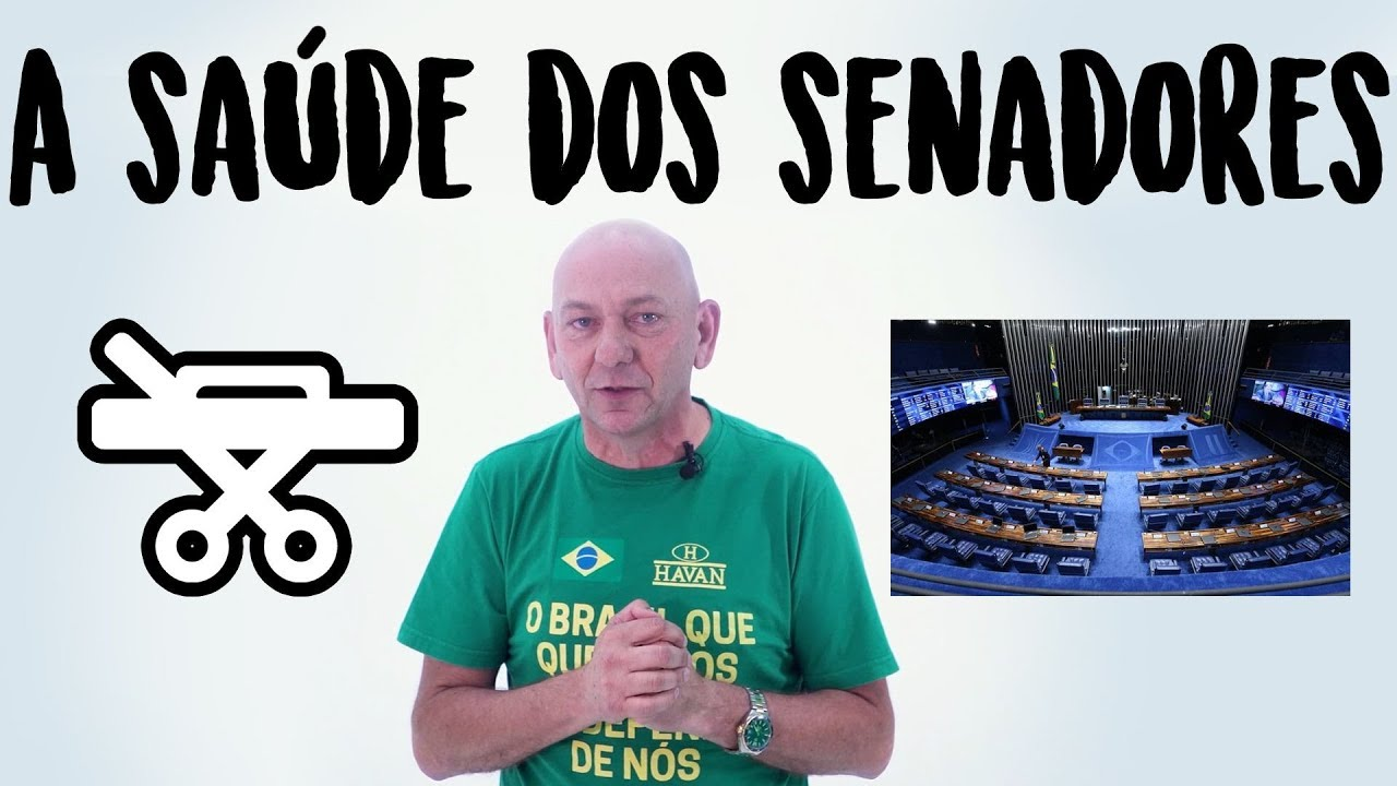 PLANO DE SAÚDE DOS SENADORES | Opinião política | Luciano Hang