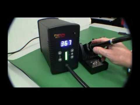 New Metcal Hct2 120 Digital Hot Air Pencil Youtube