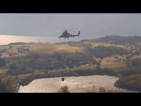 Remotely Piloted K-MAX Helicopter Firefighting Demonstration
