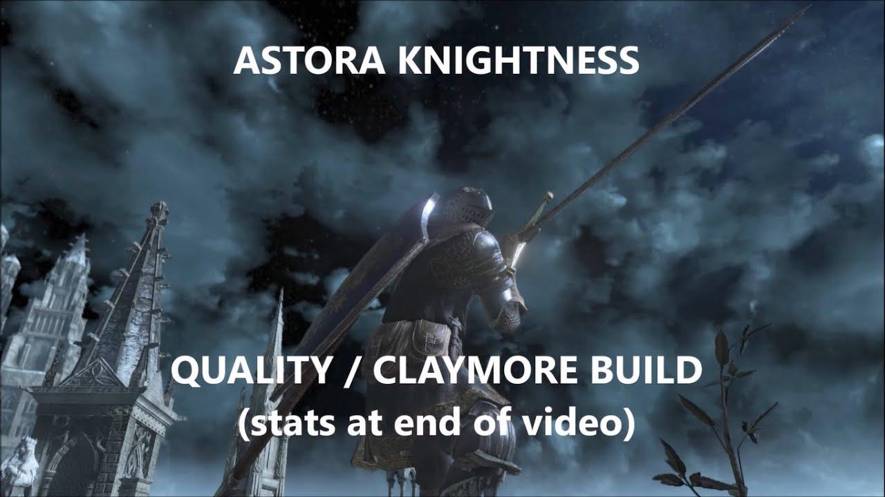 Dark Souls  Claymore Build