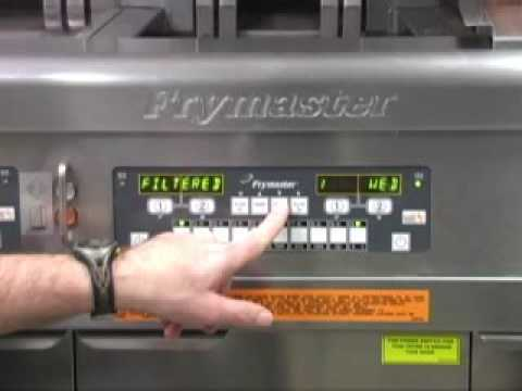 Retrieving Filter Statistics From Frymaster Mcdonald S Lov