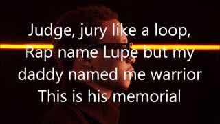 Shining down - Lupe Fiasco Ft. Matthew Santos [Lyrics]