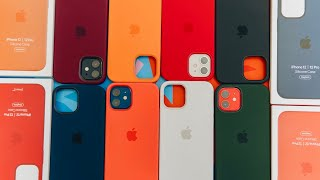 Testing Out All iPhone 12 & 12 Pro Silicone Cases + MagSafe (All Colors)