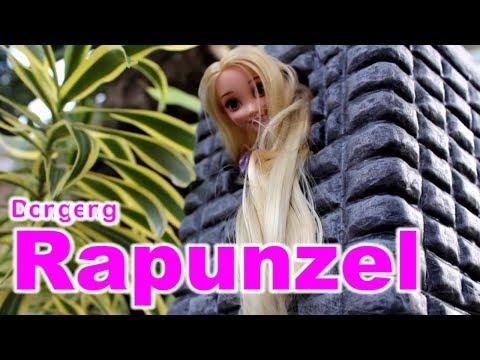 🔴RAPUNZEL & PENYIHIR🔴 Drama dongeng anak boneka BARBIE