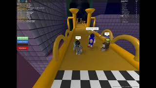 Roblox - Ditch School - Racing metal sonic with my friends