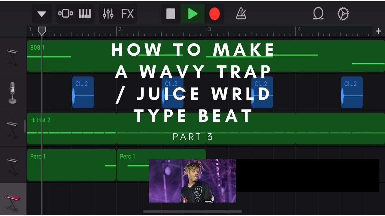 How to Make a Juice WRLD Type Beat Part 3
