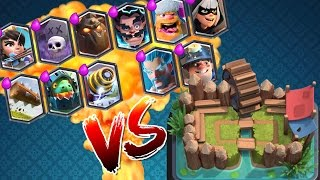 ALLE LEGENDARIES IN ARENA 1! || CLASH ROYALE || Let