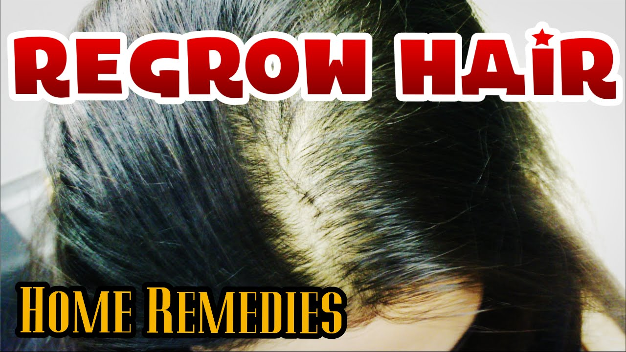 How To Regrow Hair Follicles Naturally