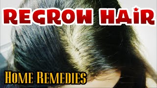 Regrow hair NATURALLY | How to cure BALDNESS for men & women