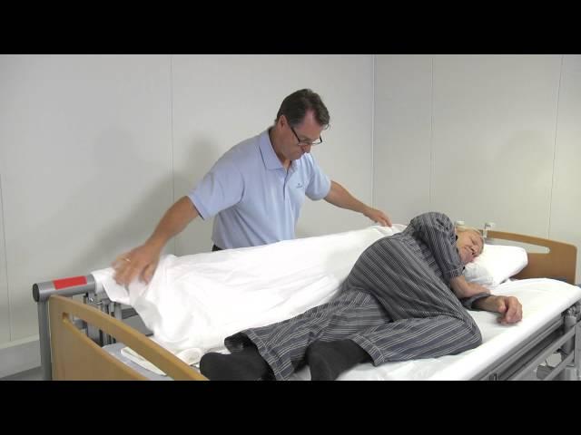Skift lagen med patient i seng med VENDLET V5S