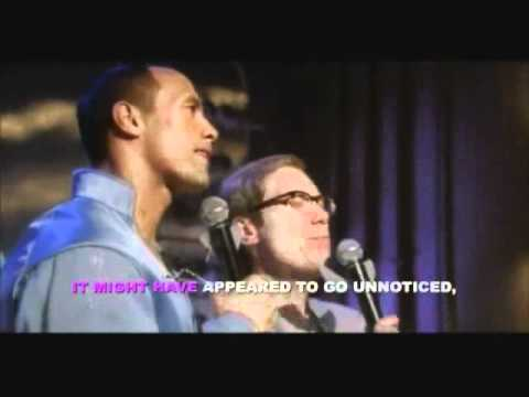 Steve Merchant & Dwayne Johnson Fairyoke Duet
