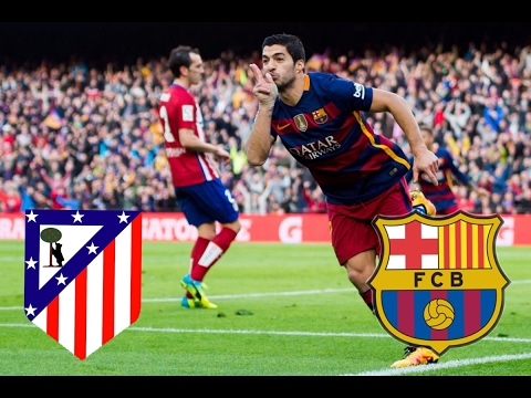 Fc Barcelona Vs Atletico Madrid 1 1 All Goals And